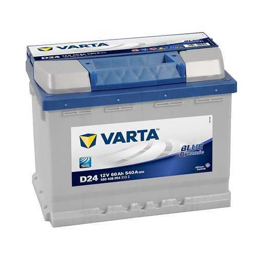 Varta D24 | 560408 | 12V-60Ah | Blue dynamic