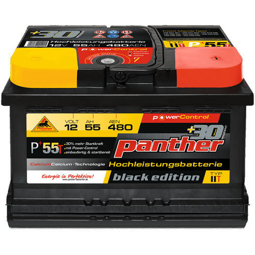 Panther P+55T | 12V-55Ah | 480A